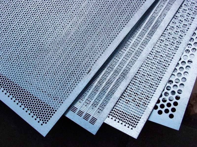 Decorative sheets, perforated sheets, door lining